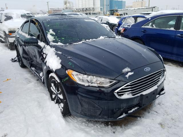 Salvage cars for sale from Copart Chicago Heights, IL: 2020 Ford Fusion SE