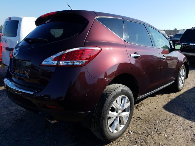 2014 NISSAN MURANO S - Right Rear View
