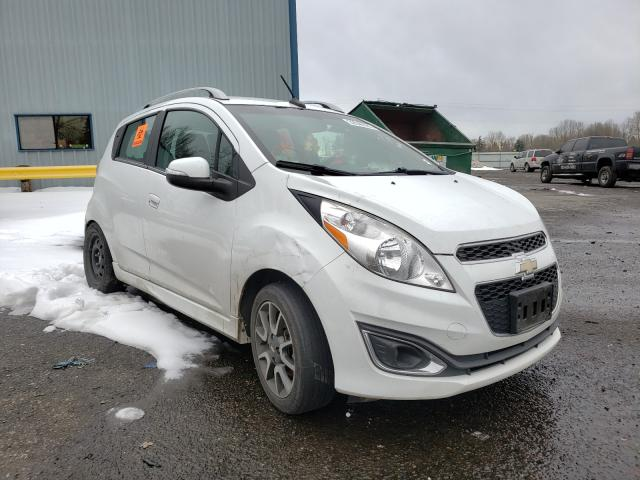 Salvage cars for sale from Copart Portland, OR: 2014 Chevrolet Spark 2LT
