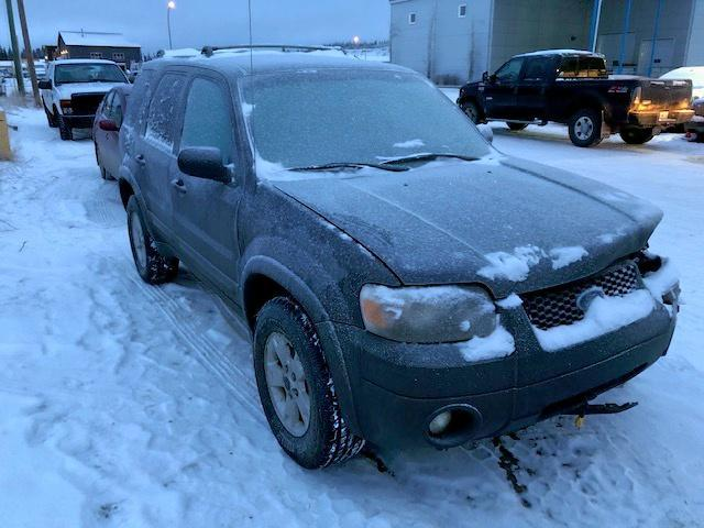 Ford salvage cars for sale: 2007 Ford Escape XLT