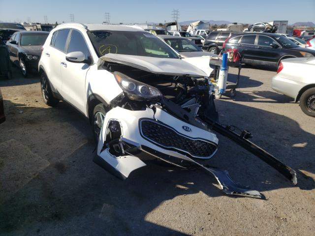 Salvage cars for sale from Copart Tucson, AZ: 2021 KIA Sportage E