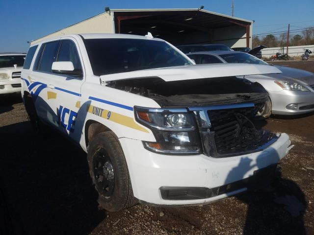 Salvage cars for sale from Copart Houston, TX: 2019 Chevrolet Tahoe Police