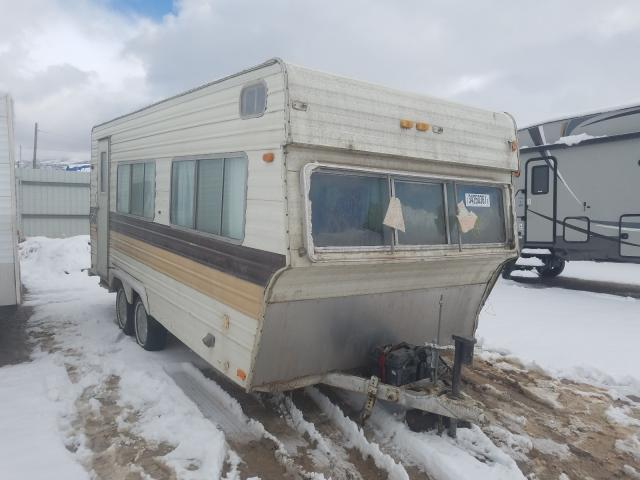 Skyline salvage cars for sale: 1978 Skyline Travel Trailer
