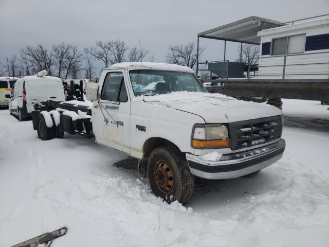 Ford F350 salvage cars for sale: 1992 Ford F350