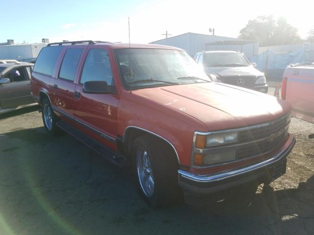 Chevrolet Suburban salvage cars for sale: 1999 Chevrolet Suburban