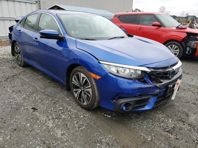 Salvage cars for sale from Copart Spartanburg, SC: 2018 Honda Civic EXL