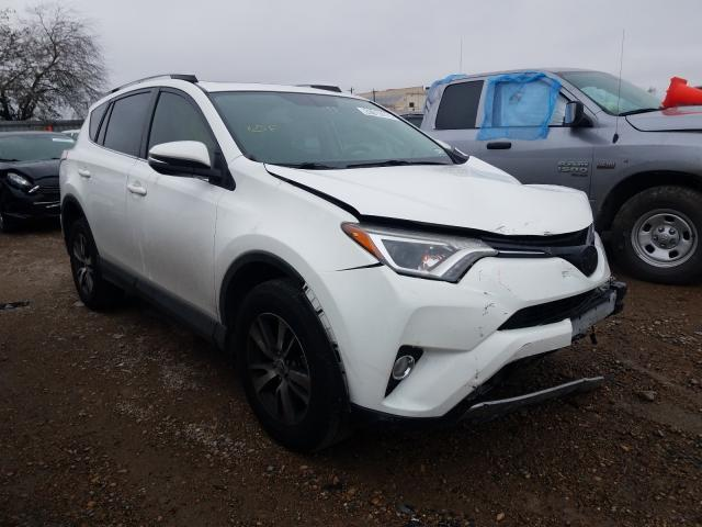 Salvage cars for sale from Copart Mercedes, TX: 2016 Toyota Rav4 XLE