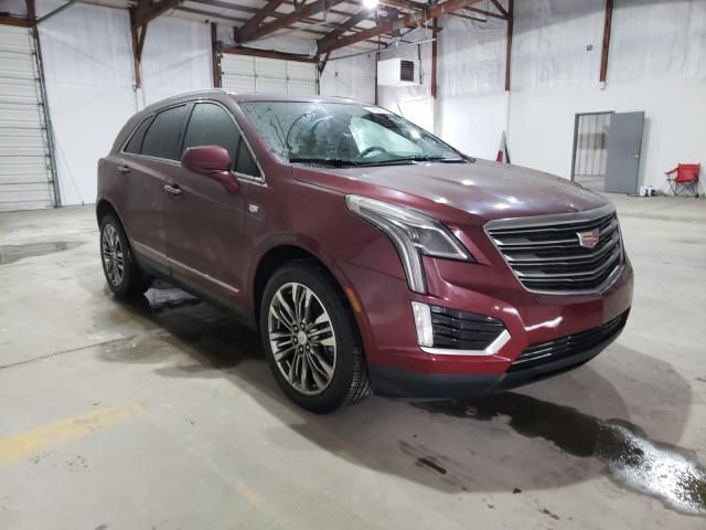 Salvage cars for sale from Copart Lexington, KY: 2017 Cadillac XT5 Premium