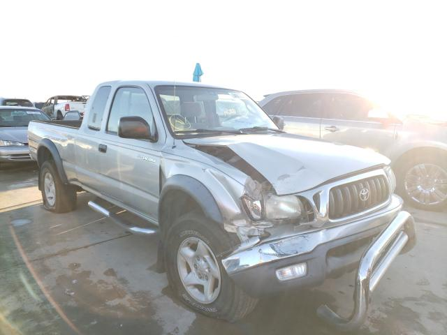 Salvage cars for sale from Copart Grand Prairie, TX: 2003 Toyota Tacoma XTR