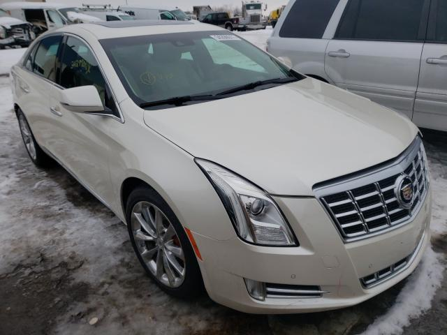 Salvage cars for sale from Copart Woodhaven, MI: 2013 Cadillac XTS Premium