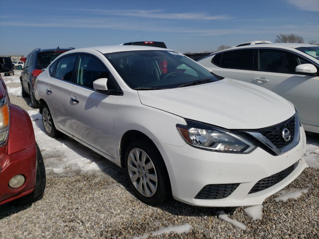Salvage cars for sale from Copart Wichita, KS: 2018 Nissan Sentra S
