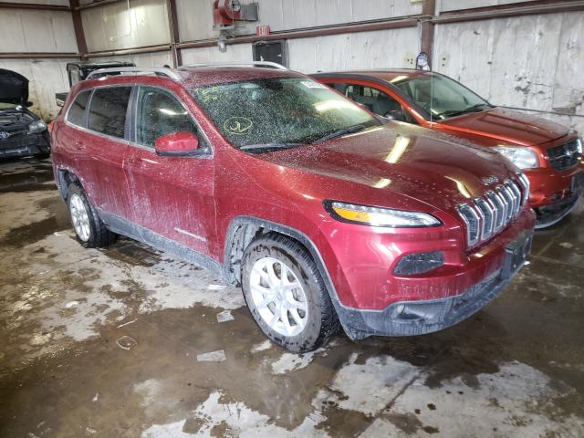 Salvage cars for sale from Copart Eldridge, IA: 2015 Jeep Cherokee L