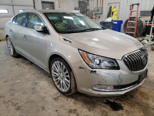 Salvage cars for sale from Copart Columbia, MO: 2014 Buick Lacrosse T