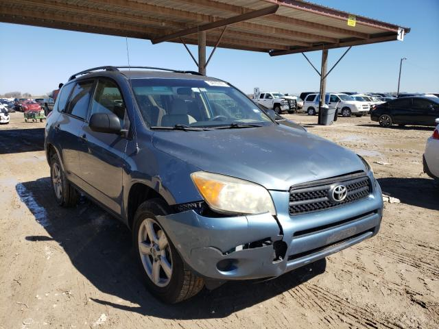 Salvage cars for sale from Copart Temple, TX: 2006 Toyota Rav4