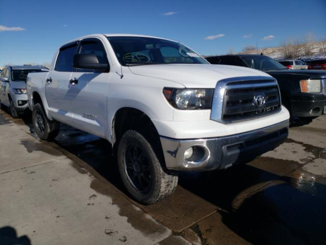 Salvage cars for sale from Copart Littleton, CO: 2013 Toyota Tundra CRE