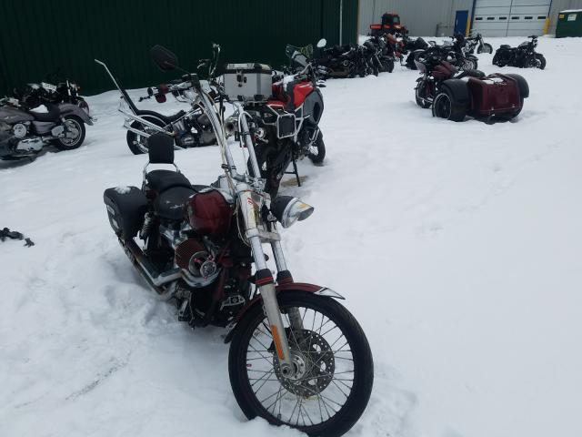 Salvage cars for sale from Copart Candia, NH: 2010 Harley-Davidson Fxdwg