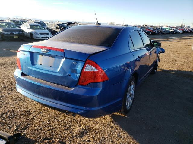 2011 FORD FUSION SE - Right Rear View