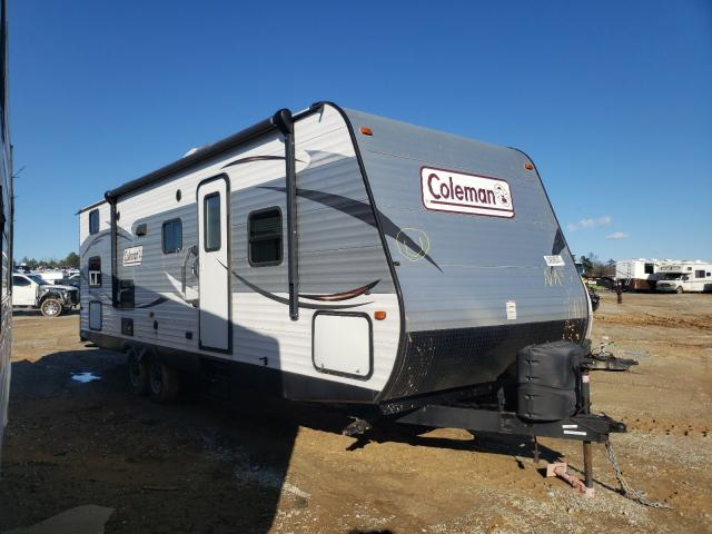Coleman salvage cars for sale: 2015 Coleman Camper