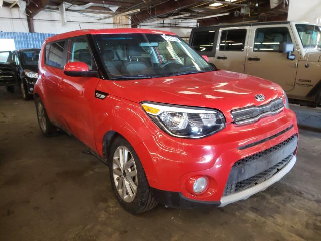 Salvage cars for sale from Copart Denver, CO: 2019 KIA Soul +