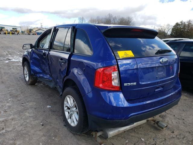 2013 FORD EDGE SE 2FMDK3GC9DBB08873
