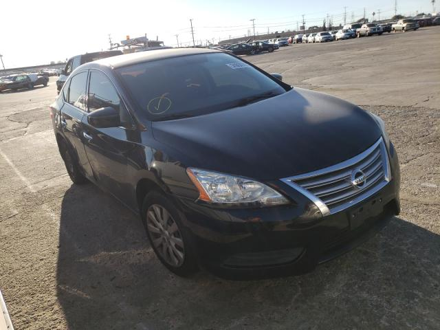 Nissan salvage cars for sale: 2015 Nissan Sentra SV
