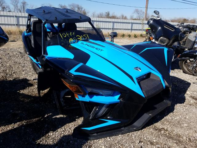 Salvage cars for sale from Copart Houston, TX: 2020 Polaris Slingshot
