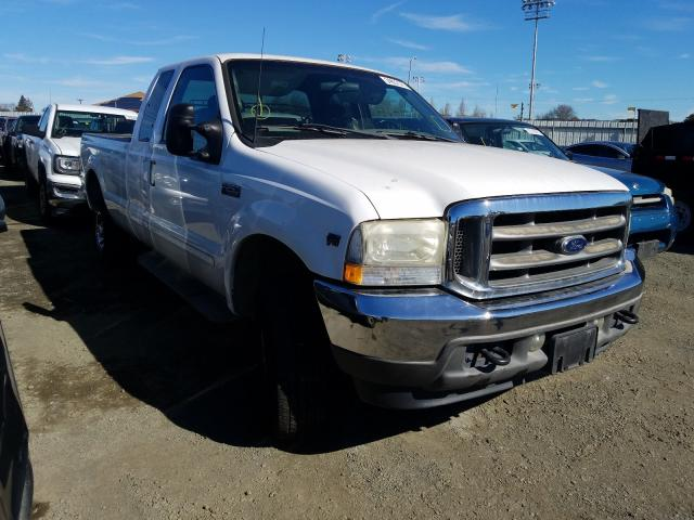 Salvage cars for sale from Copart Vallejo, CA: 2002 Ford F250 Super