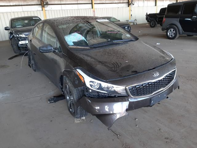 Salvage cars for sale from Copart Phoenix, AZ: 2018 KIA Forte LX