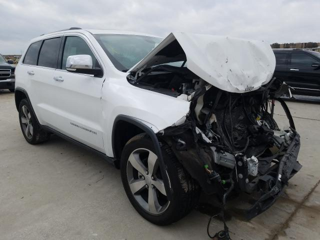 Salvage cars for sale from Copart Grand Prairie, TX: 2015 Jeep Grand Cherokee