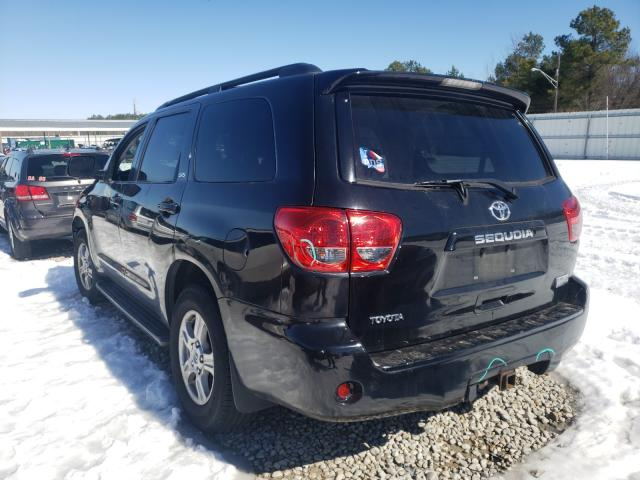 2008 TOYOTA SEQUOIA SR - Right Front View