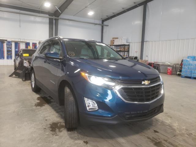 Salvage cars for sale from Copart Lumberton, NC: 2020 Chevrolet Equinox LT