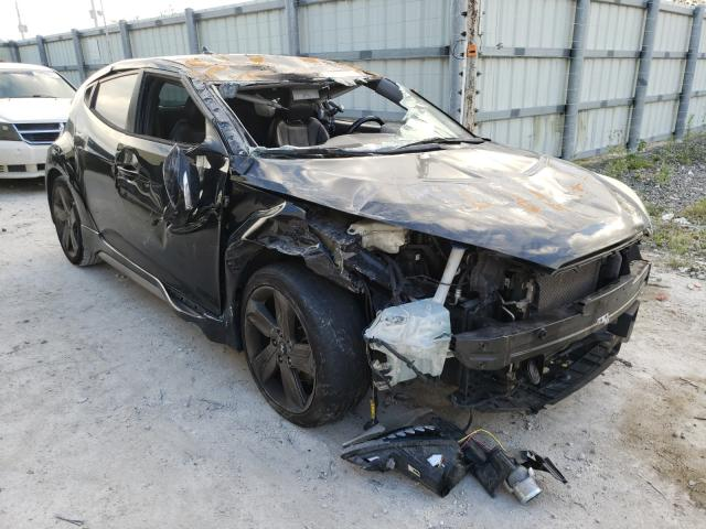 Salvage cars for sale from Copart Homestead, FL: 2014 Hyundai Veloster T