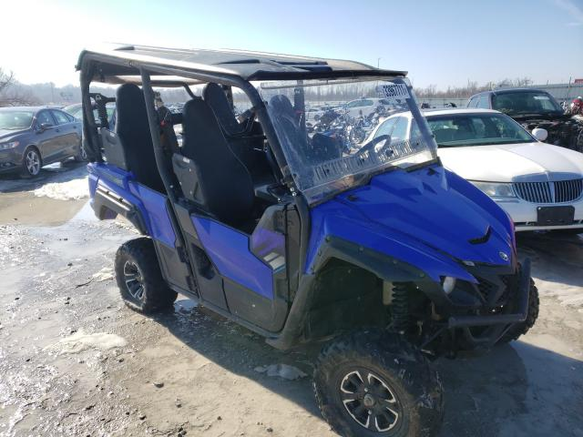 Salvage motorcycles for sale at Alorton, IL auction: 2018 Yamaha YXF850 E