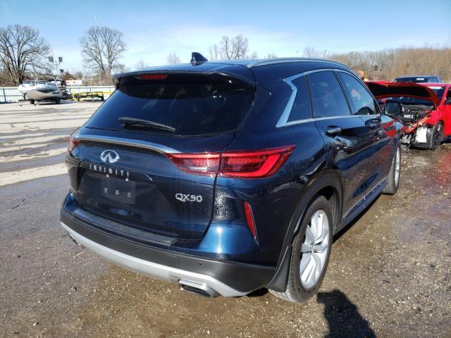 2019 INFINITI QX50 ESSEN - Right Rear View
