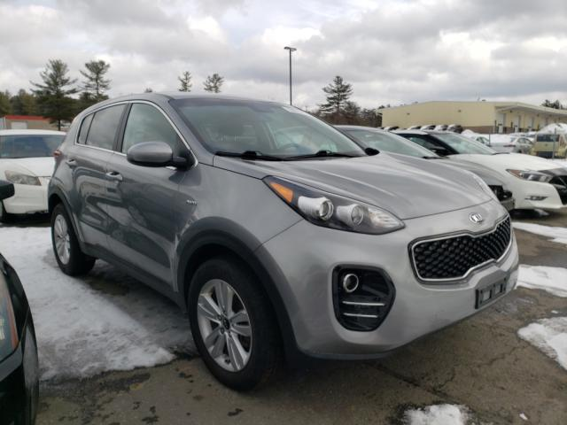 Salvage cars for sale from Copart Exeter, RI: 2019 KIA Sportage L