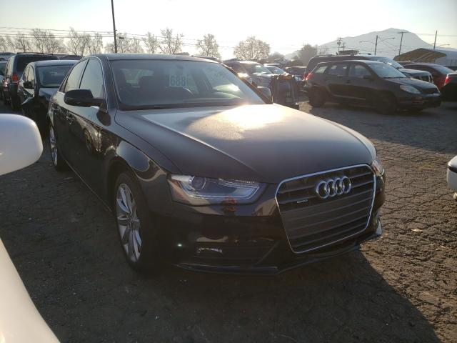 Salvage cars for sale from Copart Colton, CA: 2013 Audi A4 Premium