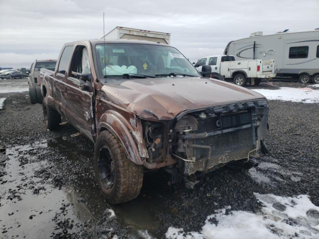 Vehiculos salvage en venta de Copart Airway Heights, WA: 2012 Ford F350 Super