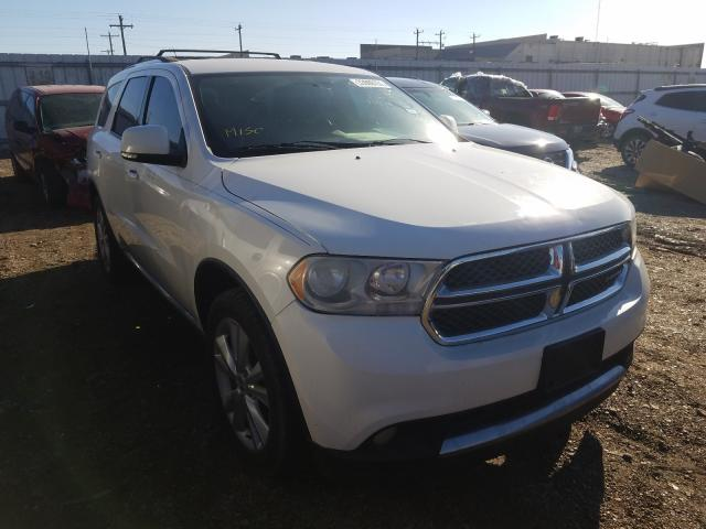 Salvage cars for sale from Copart Mercedes, TX: 2012 Dodge Durango CR