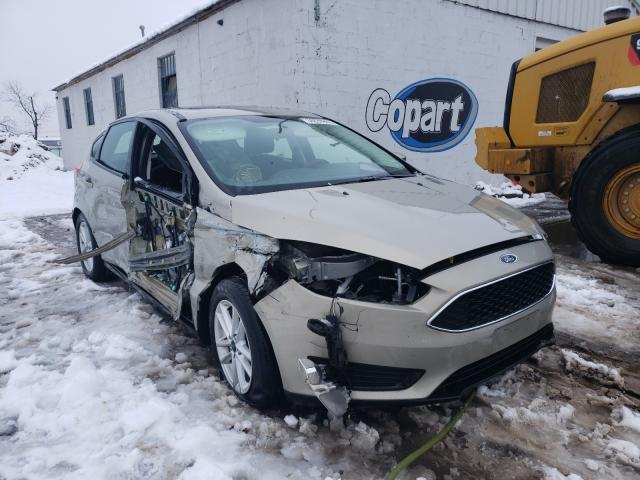 Salvage cars for sale from Copart Hillsborough, NJ: 2016 Ford Focus SE