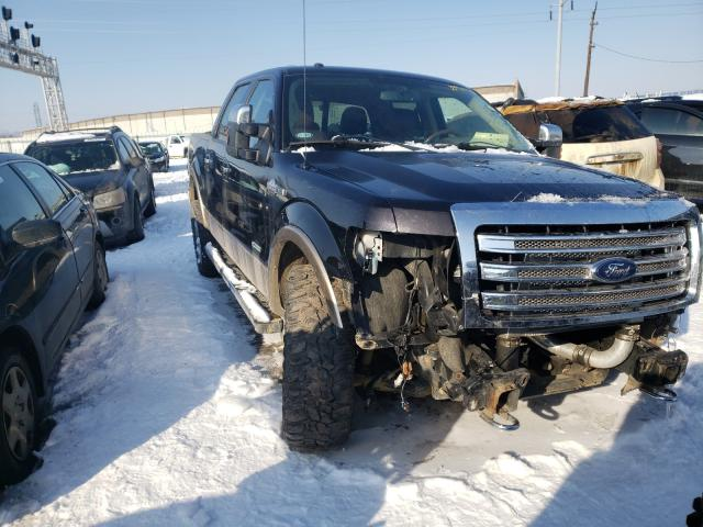 Vehiculos salvage en venta de Copart Columbus, OH: 2014 Ford F150 Super