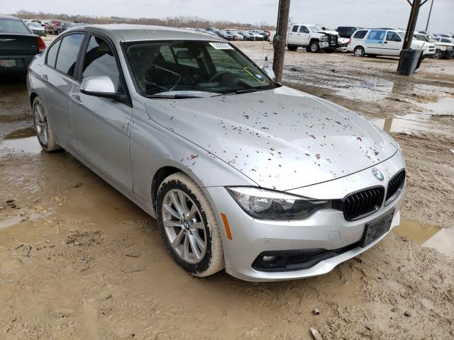 Salvage cars for sale from Copart Temple, TX: 2017 BMW 320 I