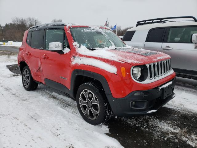 2017 Jeep Renegade L en venta en East Granby, CT