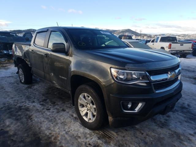 Salvage cars for sale from Copart Helena, MT: 2018 Chevrolet Colorado L