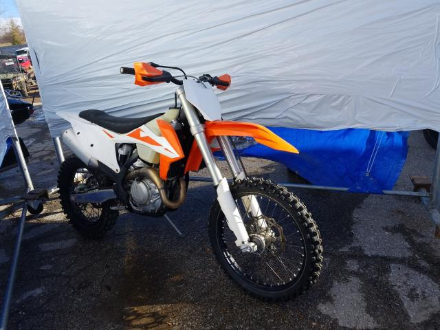 KTM salvage cars for sale: 2020 KTM 450 XC-F