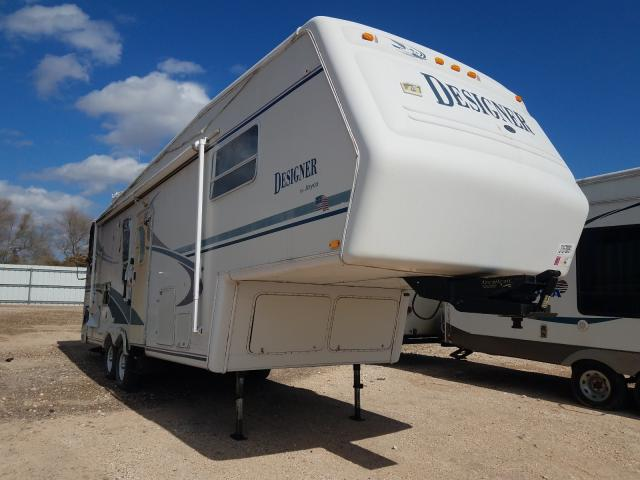 Jayco Designer salvage cars for sale: 2000 Jayco Designer