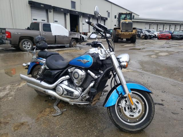 Salvage cars for sale from Copart Louisville, KY: 2010 Kawasaki VN1700 E