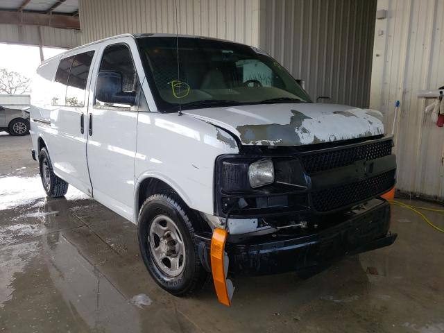 Salvage cars for sale from Copart Homestead, FL: 2007 Chevrolet Express G1