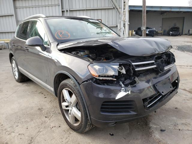Salvage cars for sale from Copart Corpus Christi, TX: 2012 Volkswagen Touareg V6
