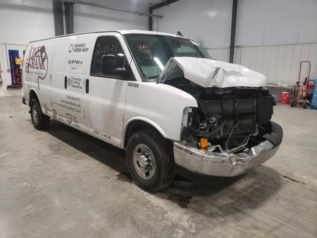 Salvage cars for sale from Copart Lumberton, NC: 2019 Chevrolet Express G2