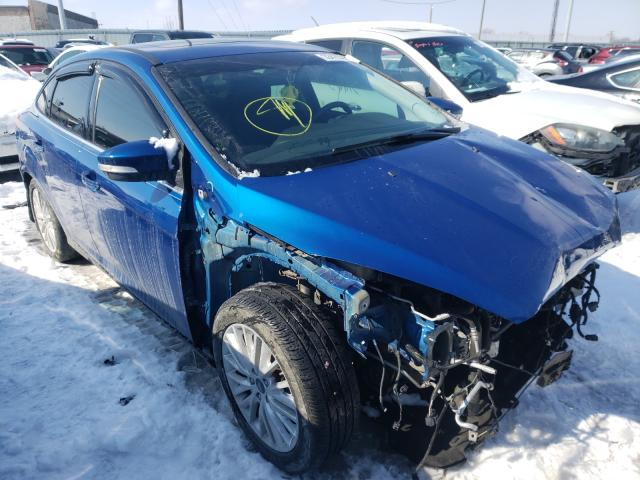 Salvage cars for sale from Copart Columbus, OH: 2018 Ford Focus Titanium